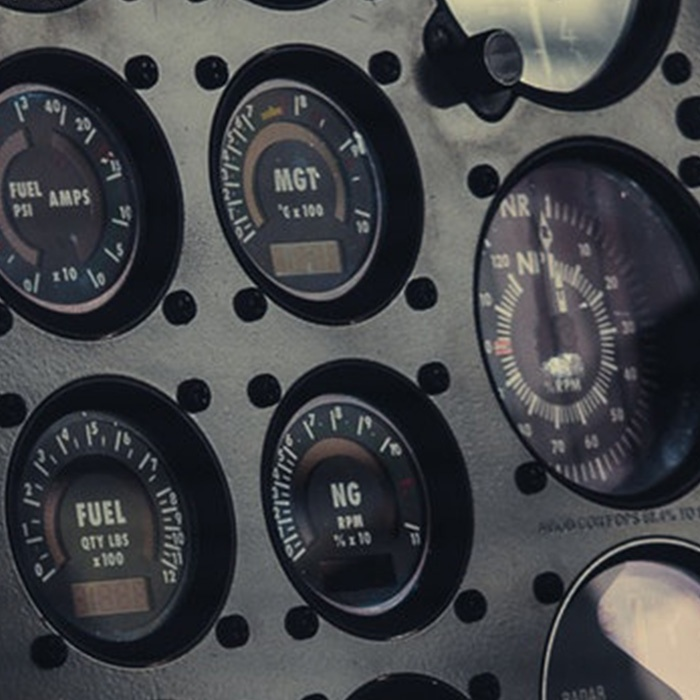 Control Panel Helicopter